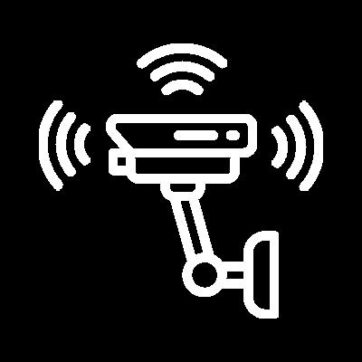 Ícone Integrado à câmeras de vídeo