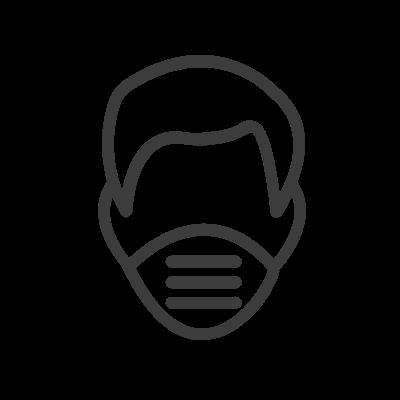 Ícone Checagem de máscara